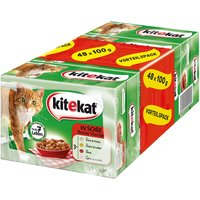 Kitekat Variety Pouches Megapack 48 x 100g - Countryside Picnic