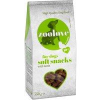 zoolove Soft Snacks Dog Treats Saver Pack 5 x 100g - Mixed Pack: 3 x Chicken & 2 x Lamb