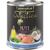 zooplus Selection Junior Turkey - 6 x 400g