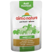 Almo Nature Anti Hairball Pouches - Chicken (12 x 70g)