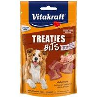 Vitakraft Liver Sausage Treaties Bits - Saver Pack: 2 x 120g