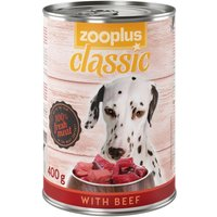 zooplus Classic with Beef - 6 x 400g