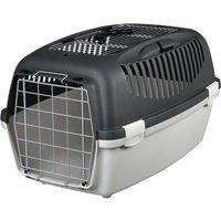 Trixie Capri Pet Carrier Open Top - Grey - 61 x 40 x 38 cm (L x W x H)