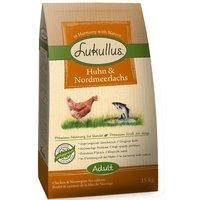Lukullus Dog Food Chicken & Northern Wild Salmon - 1.5kg