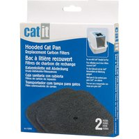 Replacement Filters - Catit Litter Boxes - 2 x 2 Replacement Carbon Filters