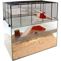 Falco Small Pet Cage - 75 x 45 x 62 cm (L x W x H)