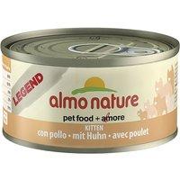 Almo Nature Legend Kitten - Chicken - Saver Pack: 12 x 70g