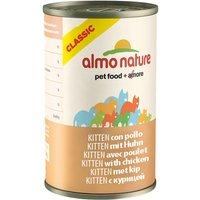 Almo Nature Classic Kitten - Chicken - Saver Pack: 12 x 140g