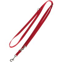 Hunter Ecco Sport Dog Lead - Red - 110cm
