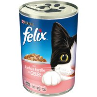 Felix Cat Food Cans Saver Pack 24 x 400g - Duck & Poultry in Jelly