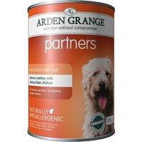 Arden Grange Partners - Chicken, Rice & Vegetables - 6 x 395g