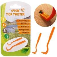 OTom Tick Hook - Single pack (orange)