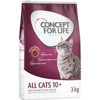 Concept for Life All Cats 10+ - New: 12 x 85g All Cats 10+ in Jelly