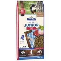 Bosch Junior Lamb & Rice Dry Dog Food - Economy Pack: 2 x 15kg