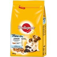 Pedigree Junior Mini Complete - Chicken & Rice - Economy Pack: 2 x 1.4kg