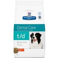 Hills Prescription Diet Canine t/d Dental Care - Economy Pack: 2 x 10kg