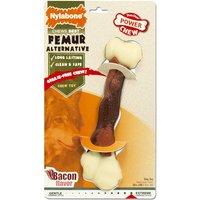 Nylabone Dura Chew Animal Part Alternative Femur - Bacon - Large