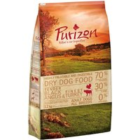Purizon Adult Dog - Grain-Free Black Angus & Turkey - 4kg