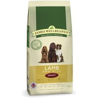 James Wellbeloved Adult - Lamb & Rice - Economy Pack: 2 x 15kg