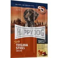 Happy Dog Toscana Tasty Sticks - Saver Pack: 9 x 10g