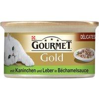 Gourmet Gold Delicacies in Sauce 12 x 85g - Beef & Chicken