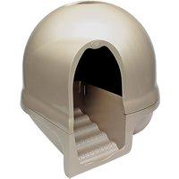 Booda Cleanstep Cat Litter Box - Cappuccino