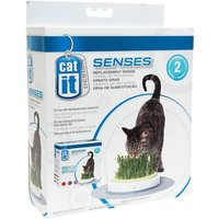 Catit Design Senses Grass Garden - Cat Grass Refill Bag (2 x 70g)