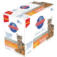 Hills Science Plan Young Adult Sterilised Cat Pouches - Mixed Pack 12 x 85g