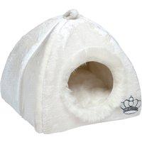 Royal Pet Den - White - 45 x 45 x 45 cm (L x W x H)