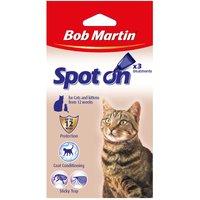 Bob Martin Spot On for Cats - 3 x 0.7ml