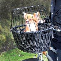 Trixie Bicycle Basket - Black - 50 x 35 x 41 cm (L x W x H)