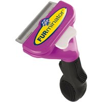 FURminator DeShedding Tool - Long Hair Cats - Small