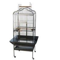 Noble Parrot Cage - Antique: 81 x 78 x 155 cm (L x W x H)