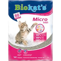 Biokats Micro Fresh Cat Litter - Economy Pack: 2 x 14l
