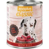 zooplus Classic Saver Pack 24 x 800g - with Game & Beef