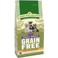 James Wellbeloved Senior Small Breed Grain Free - Turkey & Veg - Economy Pack: 3 x 1.5kg