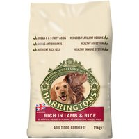 Harringtons Complete Adult Dog - Rich in Lamb & Rice - Economy Pack: 2 x 15kg