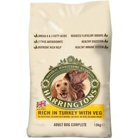 Harringtons Complete Adult Dog - Rich in Turkey with Veg - Economy Pack: 2 x 15kg