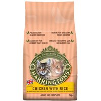 Harringtons Complete Cat Chicken with Rice - 2kg