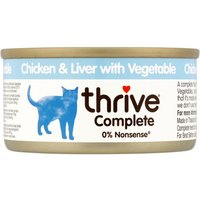 thrive Complete Adult - Chicken & Liver - Saver Pack: 24 x 75g