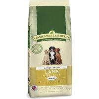 James Wellbeloved Junior Large Breed - Lamb & Rice - Economy Pack: 2 x 15kg