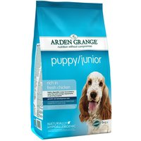 Arden Grange Puppy/Junior - Chicken - Economy Pack: 2 x 12kg