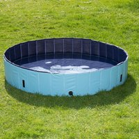 Doggy Paddling Pool - Size L: Diameter 160 x H 30cm (incl. cover)