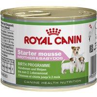 Royal Canin Starter Mousse Mother & Babydog - 12 x 195g