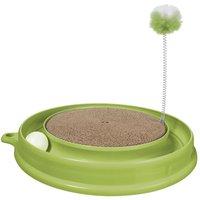 Catit Play-n-Scratch Cat Toy - Green