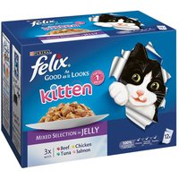 Felix Kitten As Good As It Looks - Mixed Selection (12 x 100g)
