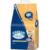 Catsan Ultra Clumping Cat Litter - Economy Pack: 2 x 15l