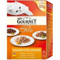 Gourmet Mon Petit - 6 x 50g Meat