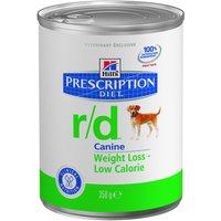 Hills Prescription Diet Canine - r/d - Saver Pack: 24 x 350g