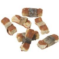 Lukullus Dog Bones 12 x 5cm - Chicken with Carrots & Rosemary